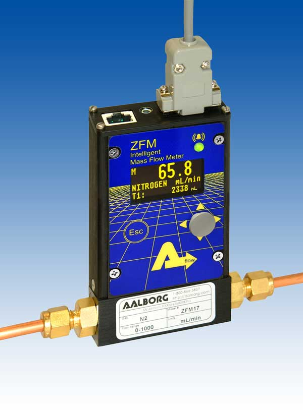 ZFM digital mass flow meter